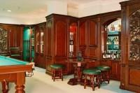 Интерьер бильярдной, кабинета, ресторана под ключ.