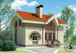 Компактный дом экономкласса. F-1408-0